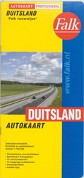 Falk autokaart Duitsland professional re -000722 000722