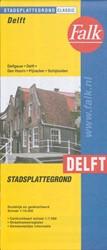 Kleurenplattegrond gemeente Delft