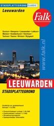Leeuwarden stadsplattegrond & fietsk