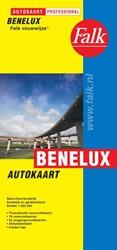 Benelux Autokaart Falk-vouwwijze -000722 000722
