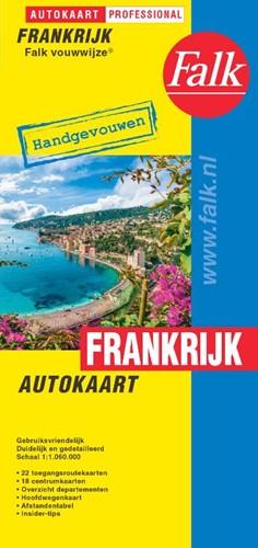 Falk autokaart Frankrijk professional