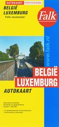 Falk autokaart Belgie-Luxemburg professi -000722 000722