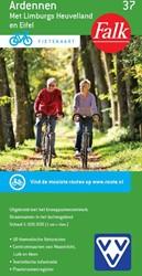 Falk VVV fietskaart 37 Ardennen, Limburg