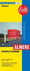 Almere plattegrond -plattegrond met komkaart en vo lledig straatnamenregister