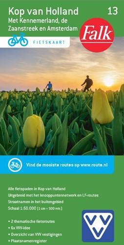 Kop van Holland -met Kennemerland, de Zaanstree k en Amsterdam