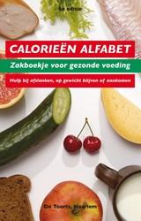 Calorieen alfabet 8e druk -zakboekje voor gezonde voeding . hulp bij afslanken, op gewi