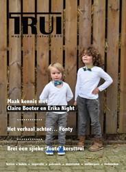 TRUI magazine winter 2015 -breien, haken, inspiratie, pat ronen, materialen, ontwerpers,