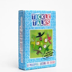 Tickle Talks -50 philosophical questions for a different kind of conversat Ham, Fabien van der