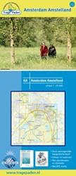Topografische Wandelkaart Amsterdam Amst -schaal 1: 25 000 Receveur, Leon