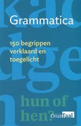 Grammatica -150 begrippen verklaard en toe gelicht Genootschap Onze Taal