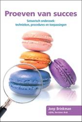Proeven van Succes -sensorisch onderzoek: techniek en, procedures en toepassingen