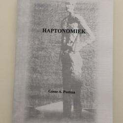 Haptonomiek -thema's uit de haptonomie gestalt Postma, Gosse A.