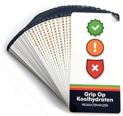 Grip op Koolhydraten - Productenwijzer -> 1600 producten. In een oo opslag zien of een product GOK Lemmers, Yvonne