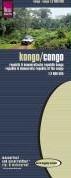 Reise Know-How Landkarte Kongo (1:2.000. -rei?- und wasserfest. Hohenl inien mit Hohenangaben, farbi