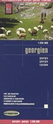 Reise Know-How Landkarte Georgien (1:350 -worldmappingproject