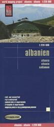 Reise Know-How Landkarte Albanien 1 : 22 -worldmappingproject