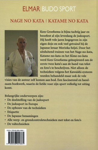 Judosport -nage no kata / katame no kata de basis van de techniek Groefsema, Kees-2
