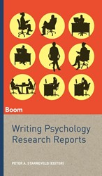 Writing Psychology Research Reports Starreveld, Peter A.
