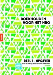 Boekhouden voor het hbo deel 1. Opgaven Heeswijk, Gerard van