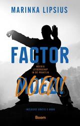 Factor DOEN!- Moedig leiderschap in -moedig leiderschap in de prakt ijk Lipsius, Marinka