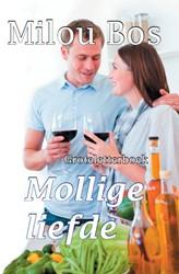 Mollige liefde - Groteletterboek -groteletterboek Bos, Milou
