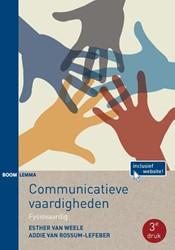Communicatieve vaardigheden -fysiovaardig Weele, Esther van