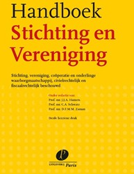 Handboek Stichting en Vereniging -Stichting, vereniging, cooper atie en onderlinge waarborgmaa