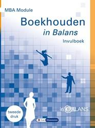 MBA Module Boekhouden in Balans Invulboe Vlimmeren, Sarina van