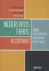 Nederlands-Frans in contrast -2000 lexicologische valstrikke n in het Frans Theissen, Siegfried