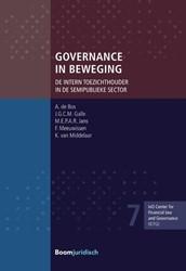 Governance in beweging -de intern toezichthouder in de semipublieke sector Bos, A. de
