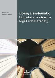 Boom Juridische studieboeken Doing a sys Snel, Marnix