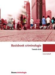 Basisboek criminologie Kolthoff, Emile