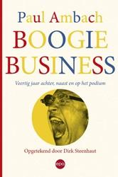 Boogie Business . Veertig jaar achter, n -veertig jaar achter, naast en op het podium Ambach, Paul