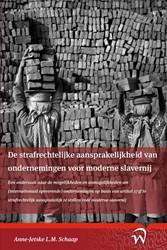 Willem Pompe Junior Podium De strafrecht -een onderzoek naar de mogelijk heden en onmogelijkheden om (i Anne-Jetske, Schaap