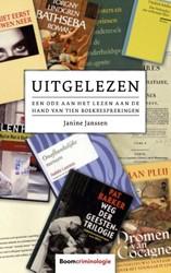 Uitgelezen -Een ode aan het lezen aan de h and van tien boekbesprekingen Janssen, Janine