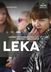 Leka leuvense eenzaamheidsschaal voor ki -eenzaamheid meten bij jongeren in Vlaanderen en Nederland Luc, Goossens