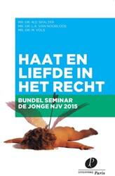 Congresbundel de Jonge Nederlandse Juris -haat en liefde in het recht Spalter, Naomi