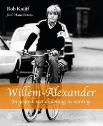 Willem-Alexander -in gesprek met de koning in wo rding Knijff, Rob