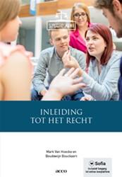 Inleiding tot het recht Hoecke, Mark Van