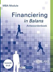 MBA Module Financiering in Balans Antwoo Vlimmeren, Sarina van