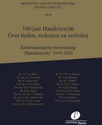 100 jaar Handelsrecht -Over heden, toekomst en verled en Kluiver, H.J. de