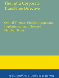The Intra Corporate Transferee Directive -Central Themes, Problem Issues and Implementation in Selecte