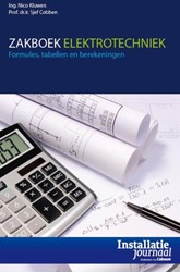 Zakboek elektrotechniek -formules,tabellen en berekenin gen Kluwen, Nico