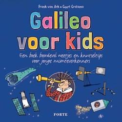 Galileo voor kids -een boek boordevol weetjes en knutseltips voor jonge ruimtev Ark, Frank van