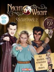 Nachtwacht : stickerboek - glow-in-the-d Verhulst, Gert