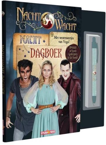Nachtwacht : dagboek met pen Verhulst, Gert