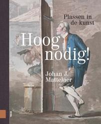 Hoognodig!, Plassen in de kunst -Plassen in de kunst Mattelaer, Johan J.