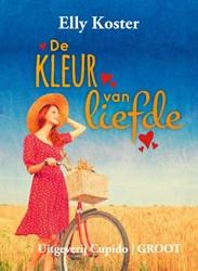 De kleur van liefde -groteletter-editie Koster, Elly