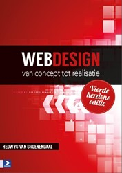 Webdesign -  Van concept tot realisatie -van concept tot realisatie Groenendaal, Hedwyg van