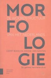 Morfologie -de woordstructuur van het Nede rlands Booij, Geert